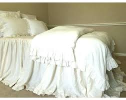 shabby chic duvet shabby chic duvet cover shabby chic linen duvet cover with country ruffles linen