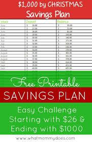 Christmas Savings Plan Chart 26 Week Extra 1 000 By Christmas Savings Plan Start