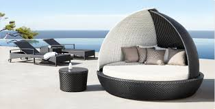 Outdoor luxury furniture