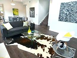 faux cowhide rug area living room contemporary with black calfskin uk beautiful silver ru fake cowhide rug large faux