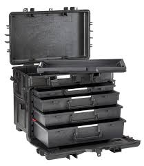 Suitcase With Drawers Suitcase Waterproof Explorer Case 5140kt02 Ah With Drawers Hpa Sarl