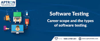 Types Of Software Testing Software Testing Career Scope And The Types Of Software Testing