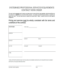 Work Authorization Form Template