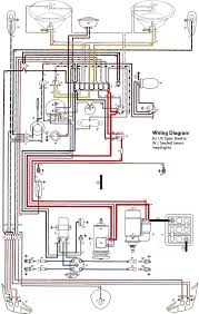 thesamba com type 1 wiring diagrams 12v Flasher Relay Wiring Diagram with inset for 12v turn signal relay Signal Flasher Wiring-Diagram