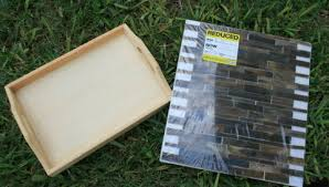How to make your own Glass Tile Serving Tray