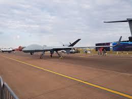 gamechanger aerial drone arrives in uk after mammoth 24 hour transatlantic flight