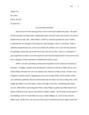 fiction essay young goodman brown lee nathan lee mrs dow  most popular documents for engl