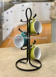 Tea Cup Display Stand Kitchen Steel Tree Hanging Coffeetea Mugcup Display Stand Buy 71