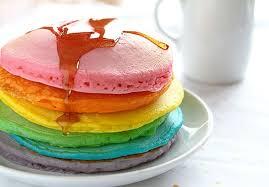 Perfect Rainbow Pancakes I Am Baker