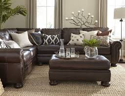 livingroom winsome amazing brown leather sofa decorating ideas mixing with picture of room dark couch