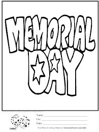 Small Picture Free Coloring Pages For Memorial Day glumme