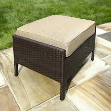 Ottoman Outdoor Furniture Cover Cushion Covers Patio Cushions