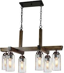 artcraft ac10866dp home glow distressed pine kitchen island lighting loading zoom