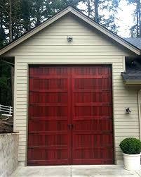 doors weatherproof wood garage door non warping patented exterior door opening with warp free wood doors garage door