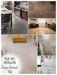 large format tile is considered to be square or rectangular tiles larger than 12x12 including popular wood look porcelain planks