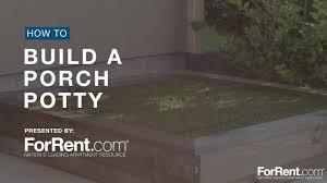 how to build a porch potty
