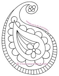 how to draw paisley a fun easy step by