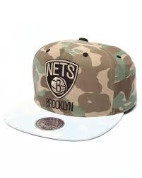 <b>Brooklyn Nets</b> Distinguished American Snapback Hat by <b>Mitchell</b> ...