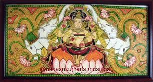 gajalakshmi a kerala mural