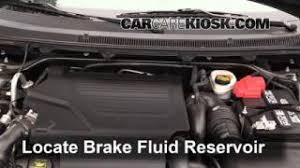interior fuse box location 2009 2016 ford flex 2013 ford flex add brake fluid 2009 2016 ford flex