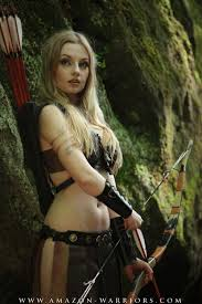 amazon warrior cosplay. Interesting Cosplay AMAZONWARRIOR  LOBA By Amazonwarriors Female Elf Halfelf Ranger Archer  Assassin Hunter Huntress Warrior Bow Cosplay LRP Leather Armor Clothes Clothing  Inside Amazon Warrior Cosplay R