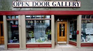 open front door welcome. Open Door Welcome For Decoration Front