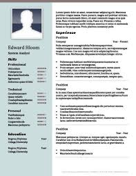 E Resume 2 New 40 Column Cv Template Cv Template Pinterest Resume Templates
