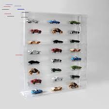 toy car wall mounted shelving display