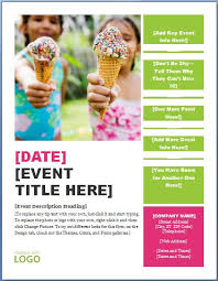 Free Printable Flyer Templates Word Generic Seasonal Event Flyer Templ With Free Printable Flyer 96