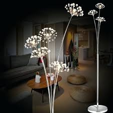 Flower Lights For Bedroom New Modern Crystal Floor Lamp For Living Room  Flower Decorative Led Steel