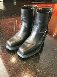 harley davidson las leather boots