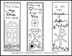 Bookmark Coloring Pages Christmas Bookmarks To Color Imranbadami Co