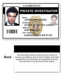 Card Id Investigator Pfp022 Private Pvc