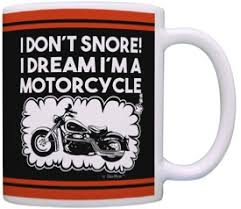 I Don't Snore Coffee Mug