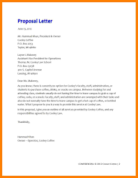 How To Write A Business Proposal Letter Sample 00000893 Sample