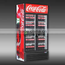 1600 liters single glass door display