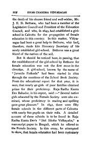 page isvar chandra vidyasagar a story of his life and work djvu  in this essay he attempted to show that female education had been customary