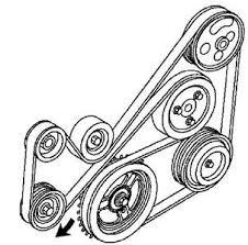 solved diagram for mazda cx7 serpentain belt i changed fixya diagram for mazda cx7 serpentain tdisline 752 jpg