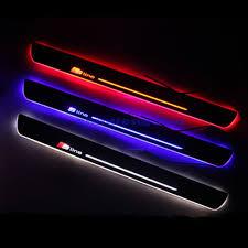 for AUDI Q3 2013-2015 <b>Car LED</b> Moving <b>Welcome</b> Lights Door Sill ...