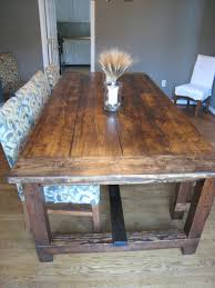 DIY Friday Rustic Farmhouse Dining Table Rustic Dining Tables - Rustic farmhouse dining room tables