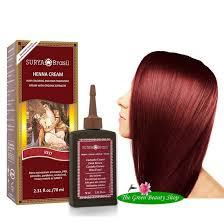 Surya Brasil Color Chart Surya Brasil Natural Henna Creme Colour Red