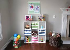 Organized play room space