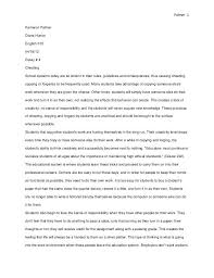 samples of example essay life experience