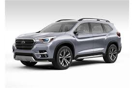 2018 subaru third row. wonderful 2018 2019 subaru ascent in 2018 subaru third row