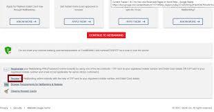 hdfc net banking registration login