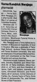 Verna Kendrick News Obituary - Newspapers.com