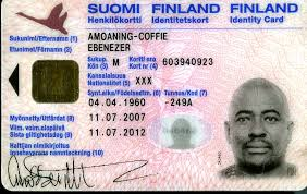 Novelty - Card Best Finland Documents Id