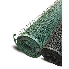 plastic poultry hex garden fence netting green