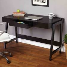 mainstays parsons desk with drawer andrademt white free simple shelf ideas for your home office