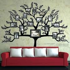 family picture frame ideas picture frame for living room tree wall decal free large family family picture frame